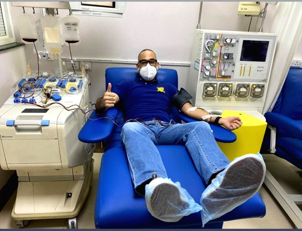 Riddhima Kapoor applauds husband for donating plasma during Covid-19 pandemic. - Riddhima Kapoor