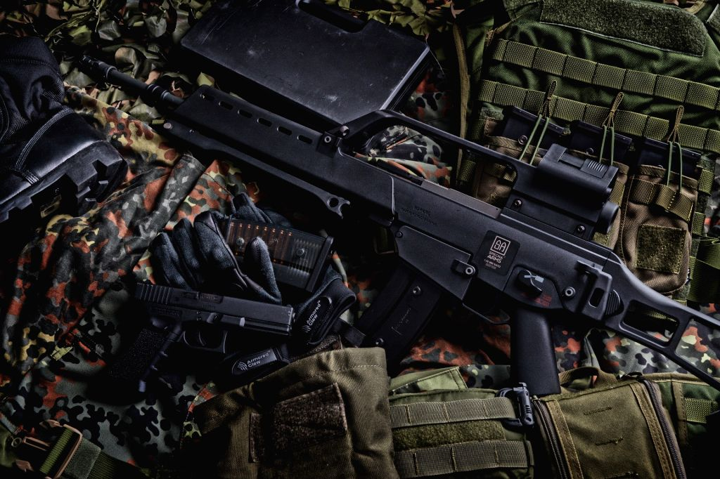 Rifle. (File Photo: IANS)