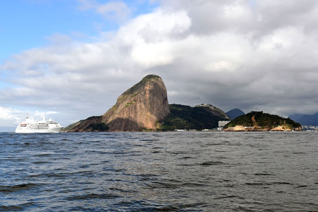 RIO DE JANEIRO, Aug. 1, 2016 - Photo taken on July 31, 2016 shows the view of the Sugarloaf mountain in Rio de Janeiro, Brazil.