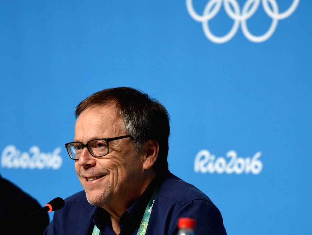 RIO DE JANEIRO, Aug. 4, 2016 - Fernando Meirelles, creative director of the Rio 2016 Olympic Games opening and closing ceremony, speaks during a press conference in Rio de Janeiro, Brazil, on Aug. 4, ...