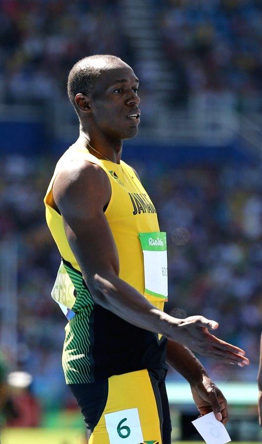 Rio de Janeiro: Usain Bolt of Jamaica at the heat in the men`s 100 metres at the Rio Olympics in Rio de Janeiro on Aug. 13, 2016.