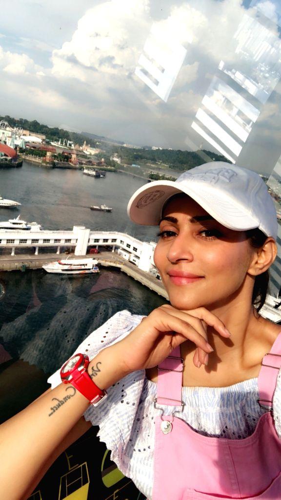 Rishina Kandhari resumes shooting, says it???s risky and scary.