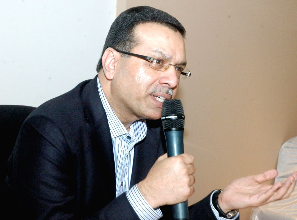 Rising Pune Super Giants owner Sanjiv Goenka addresses a press conference in Kolkata, on Jan 18, 2016. - Sanjiv Goenka
