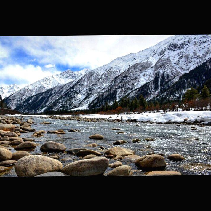 River Baspa in Rakcham