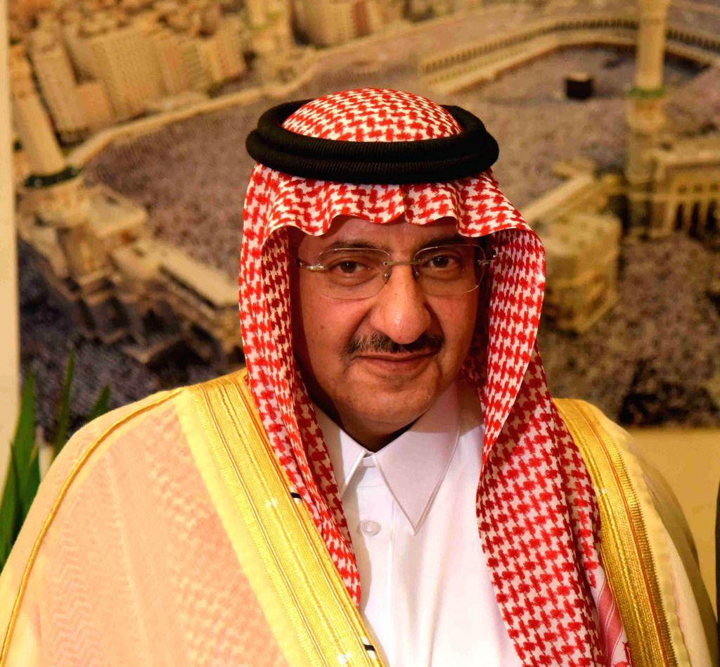 RIYADH, June 21, 2017 - File photo taken on Nov. 6, 2016 shows then Saudi Crown Prince Mohammed bin Nayef in Riyadh, Saudi Arabia. Saudi King replaces Mohammed bin Nayef with Mohammed bin Salman as ...