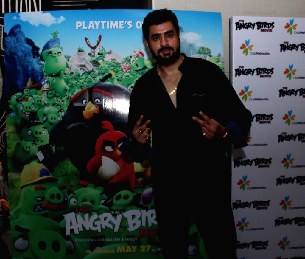 RJ Pritam Singh during the premier of film The Angry Birds in Mumbai, on May 26, 2016. - Pritam Singh