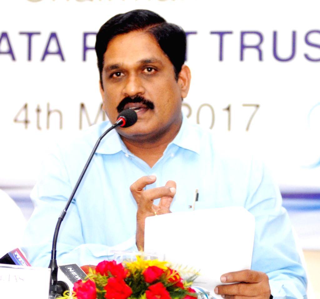 Roads and Buildings Principal Secretary M. T. Krishna Babu (Photo: IANS)