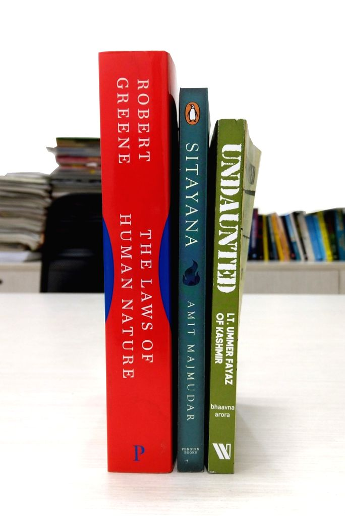 "Robert Greene's ""The Laws of Human Nature""; Amit Majmudar's ""Sitayana""; Bhaavna Arora's ""Undaunted: Lt. Ummer Fayaz of Kashmir"". - Bhaavna Arora"