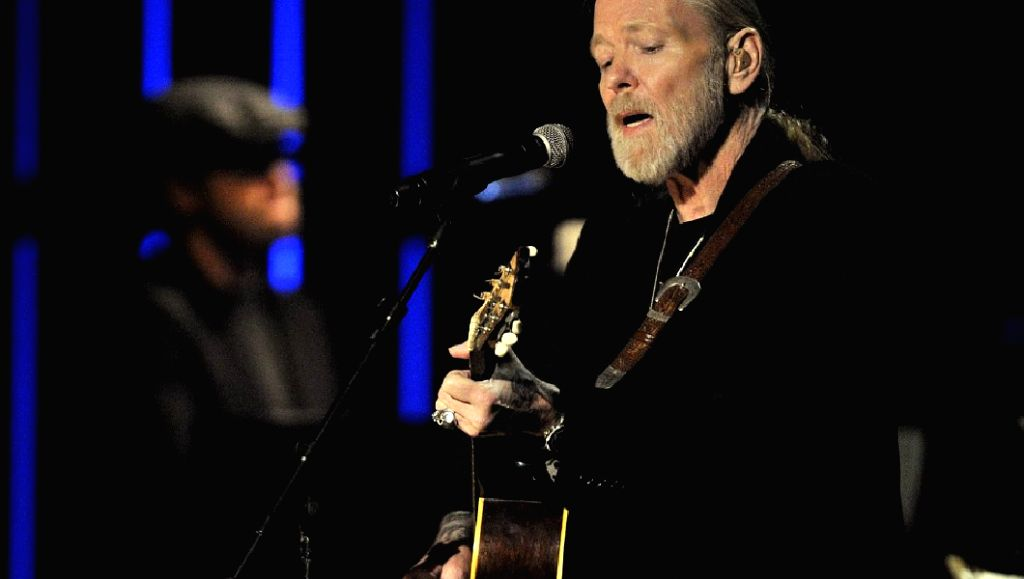 Rock legend and \'Southern Rock\' pioneer Gregg Allman who performed till his last