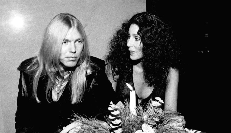 Rock legend and \'Southern Rock\' pioneer Gregg Allman with his third wife Cher