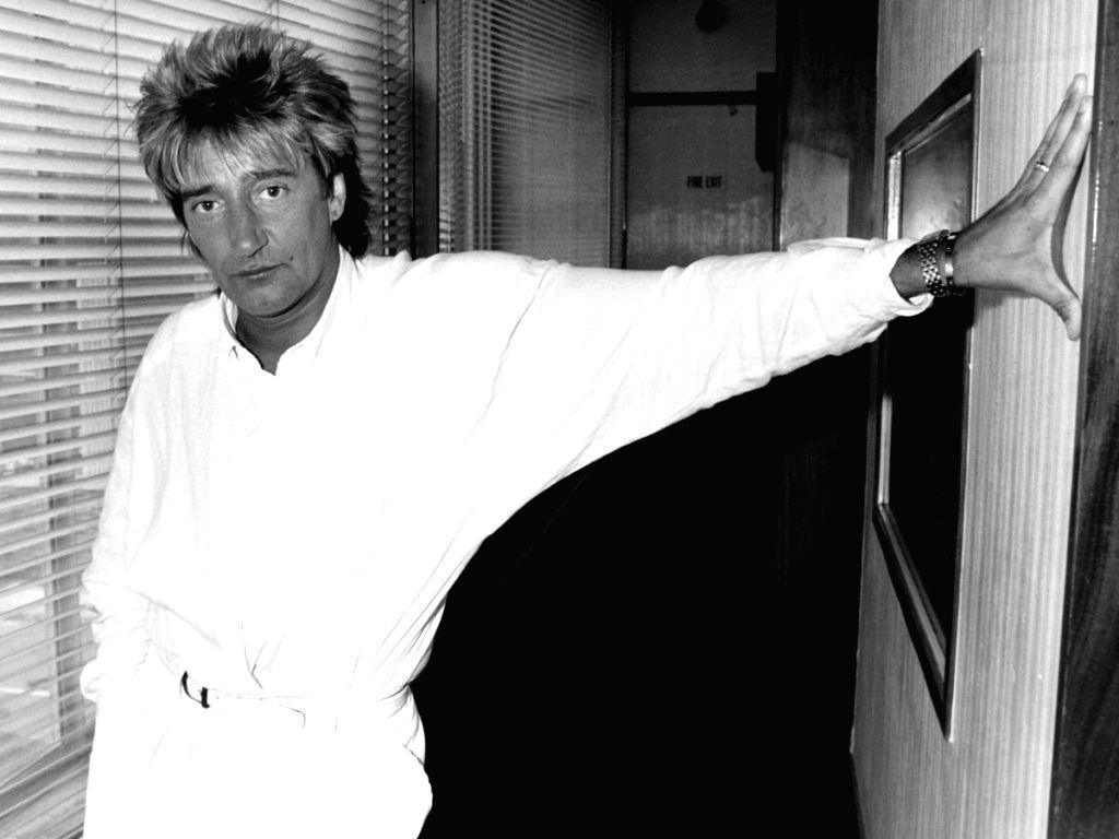 Rod Stewart.