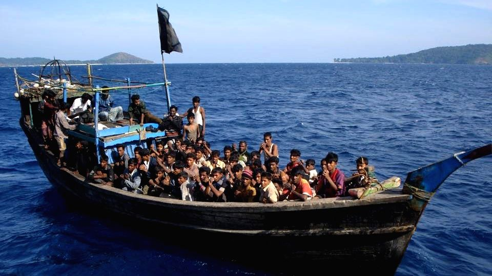 Rohingya vessel in Indian waters, UNHCR calls for 'immediate' rescue (credit: thenewhumanitarian.org)