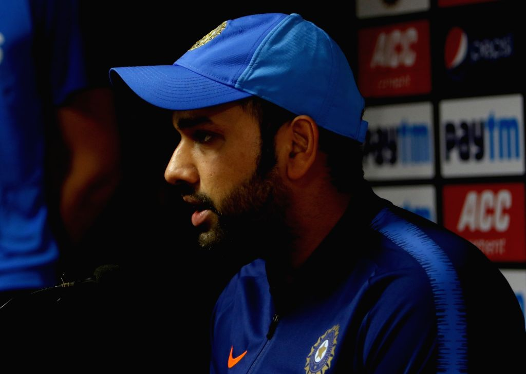 Rohit Sharma. (File Photo: Surjeet Yadav/IANS) - Rohit Sharma and Surjeet Yadav