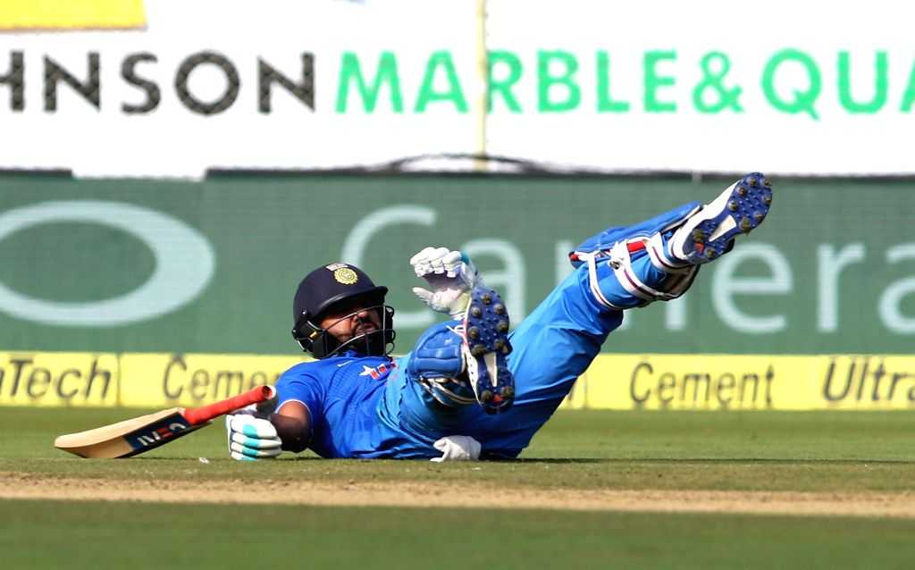 Rohit Sharma of India during the fifth ODI match between India and New Zealand at Dr. Y.S. Rajasekhara Reddy ACA-VDCA Cricket Stadium in Visakhapatnam on Oct 29, 2016. - Rohit Sharma