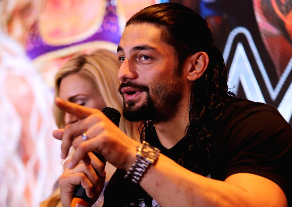 Roman Reigns. (Photo: IANS)
