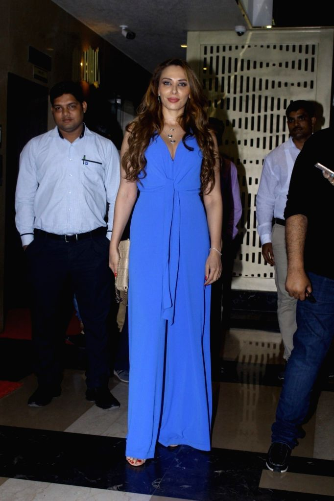 Romanian model Iulia Vantur during the screening of film Tubelight, in Mumbai, on June 22, 2017. - Iulia Vantur
