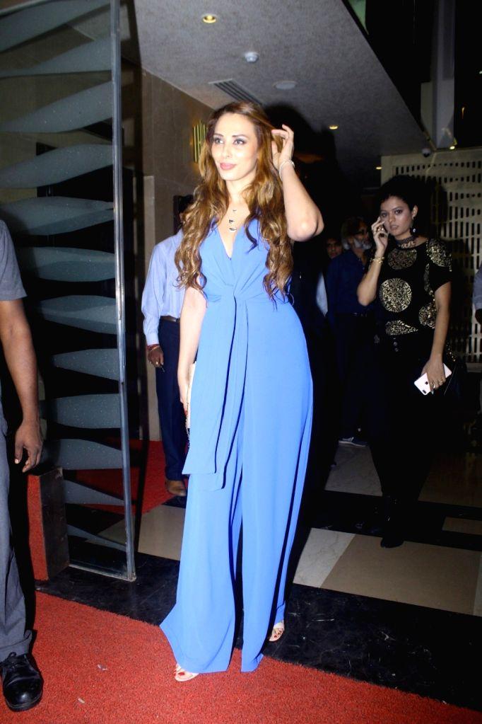 Romanian model Iulia Vantur during the screening of film Tubelight, in Mumbai, on June 22, 2017. - Iulia Vantur