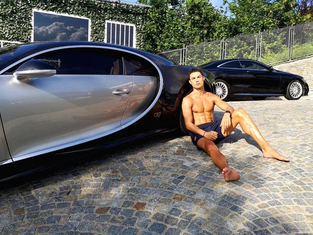 Ronaldo adds limited-edition Bugatti Centodieci to his collection.