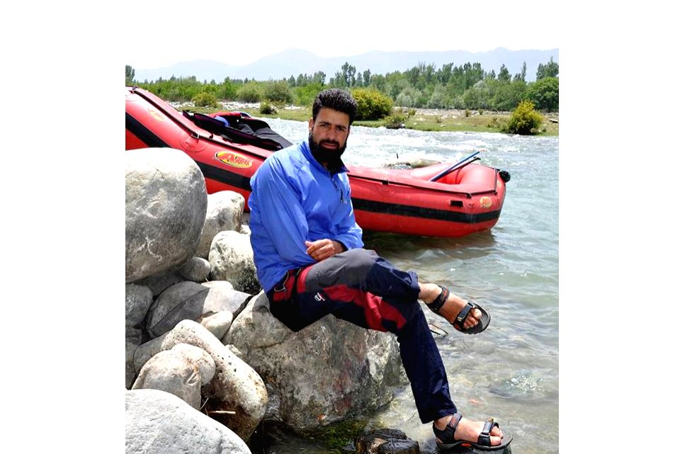 Rouf Ahmad Dar, who went missing while rescuing five tourists, including foreigners, when their boat capsized in the Lidder river on 31st May. (File Photo: IANS)