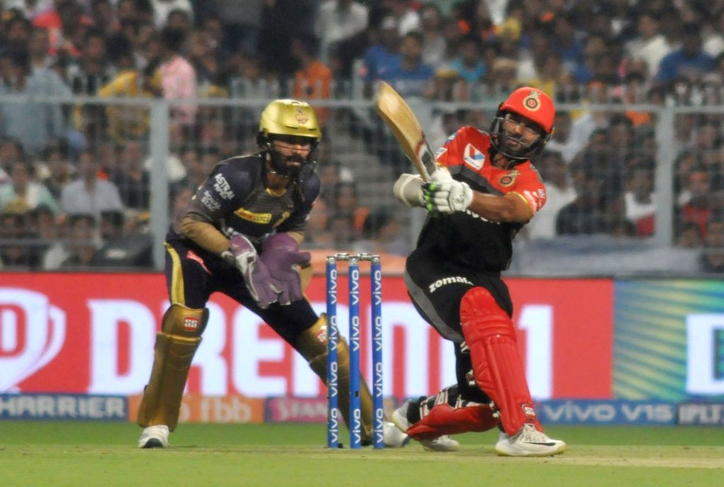 Royal Challengers Bangalore's Parthiv Patel in action during the 35th match of IPL 2019 between Kolkata Knight Riders and Royal Challengers Bangalore at Eden Gardens in Kolkata on April 19, ... - Parthiv Patel