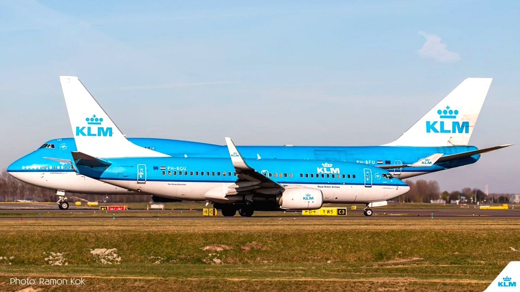 Royal Dutch Airlines. (Photo: Twitter/@KLM)