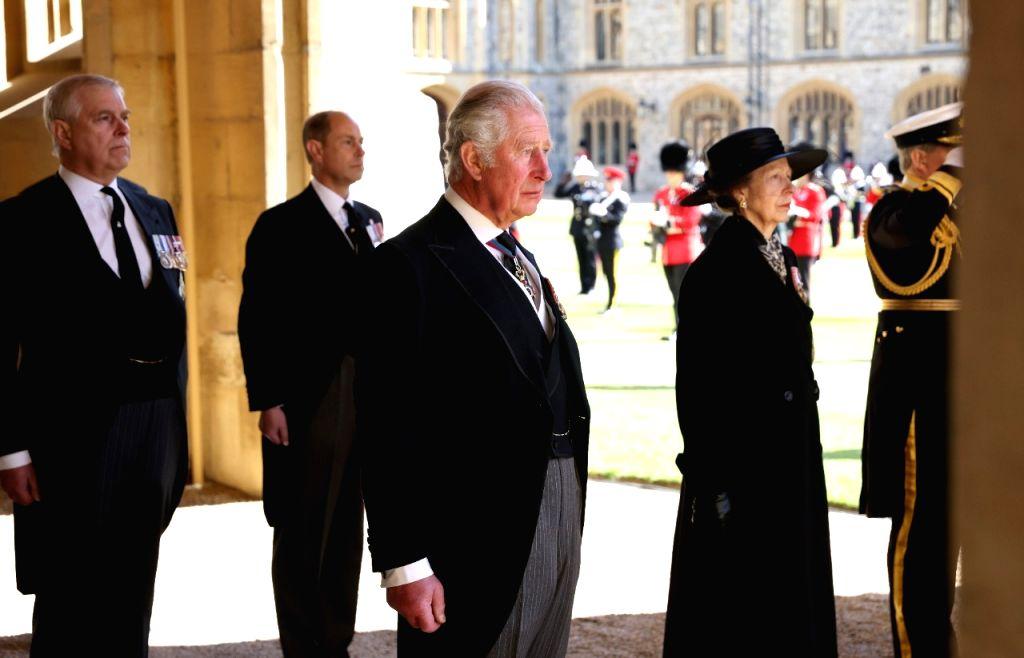 Royal Family remember duke's lifetime of service (Credit : DPA)