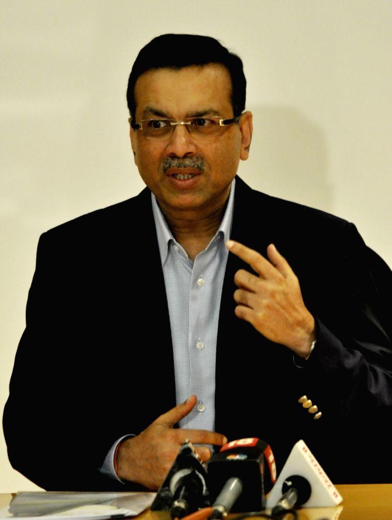 RP-Sanjiv Goenka group chairman Sanjeev Goenka addresses a press conference in Kolkata on Oct 27, 2016. - Sanjiv Goenka and Sanjeev Goenka