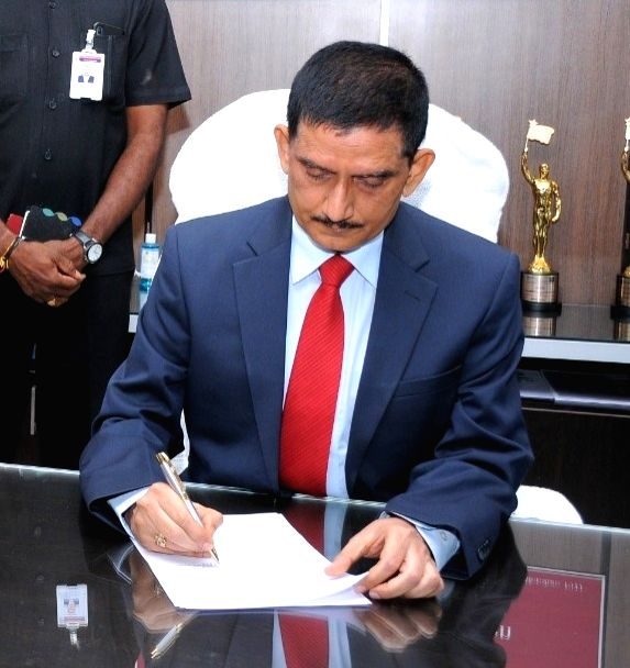 RP Thakur assumes charge as APSRTC's new vice chairman, MD.