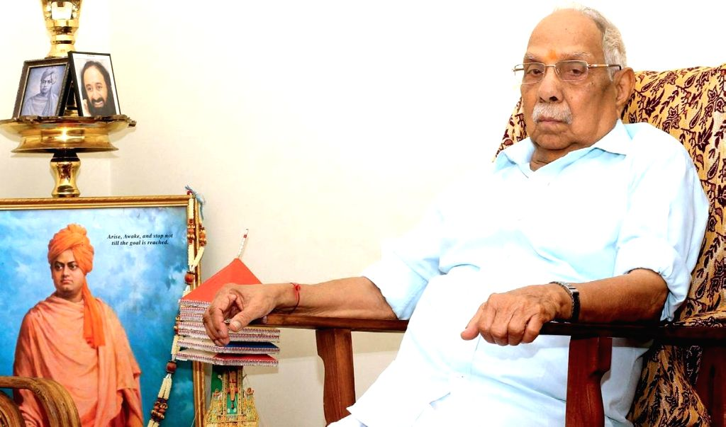 RSS ideologue P. Parameswaran.