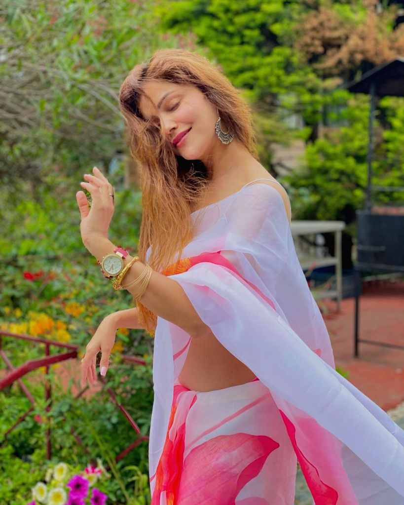 Rubina Dilaik on battling Covid: Yoga did wonders for me(Photo:Instagram)