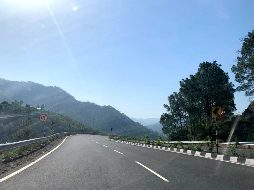 Running through time, British-era Parwanoo-Solan highway inaugurated.(photo:Vishal Gulati)