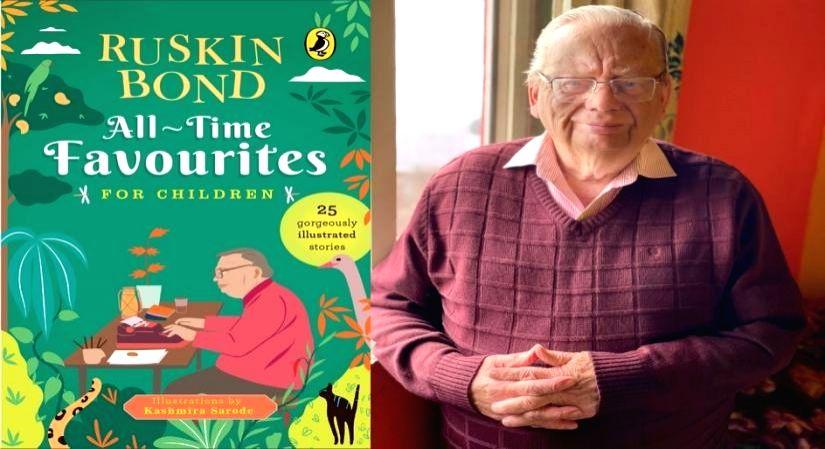 Ruskin Bond handpicks his favourite children's stories ahead of 87th birthday.(Photo:IANSLIFE)