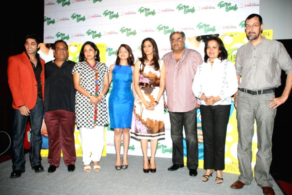 Ruslaan Mumtaz, Sridevi, husband Boney kapoor, Sheena, Rajat Kapoor