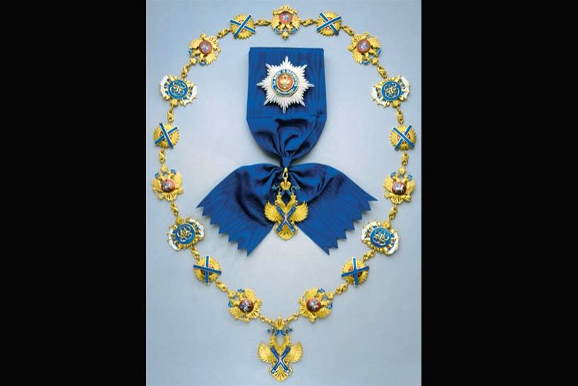 """Russia on Friday announced its highest order -- the Order of St Andrew the Apostle -- for Prime Minister Narendra Modi for """"distinguished achievement"""" in developing bilateral strategic relations. (Photo: Twitter/@HardeepSPuri) - Narendra Modi"""