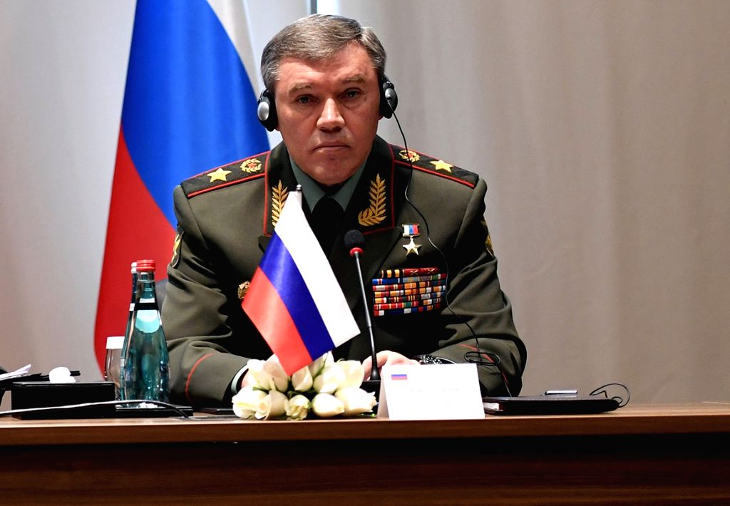 Russian Armed Forces General Staff Valery Gerasimov. (File Photo: IANS)
