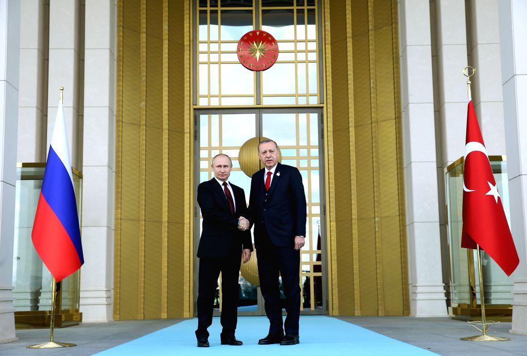 Russian President Vladimir Putin and his Turkish counterpart Recep Tayyip Erdogan have urged to establish a ceasefire in Libya starting midnight on Jan. 12, Russian Foreign Minister Sergei Lavrov said. - Sergei Lavrov