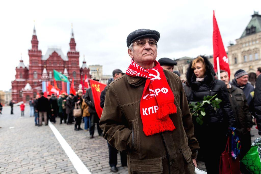 Russians mark Lenin's 150th b'day despite lockdown