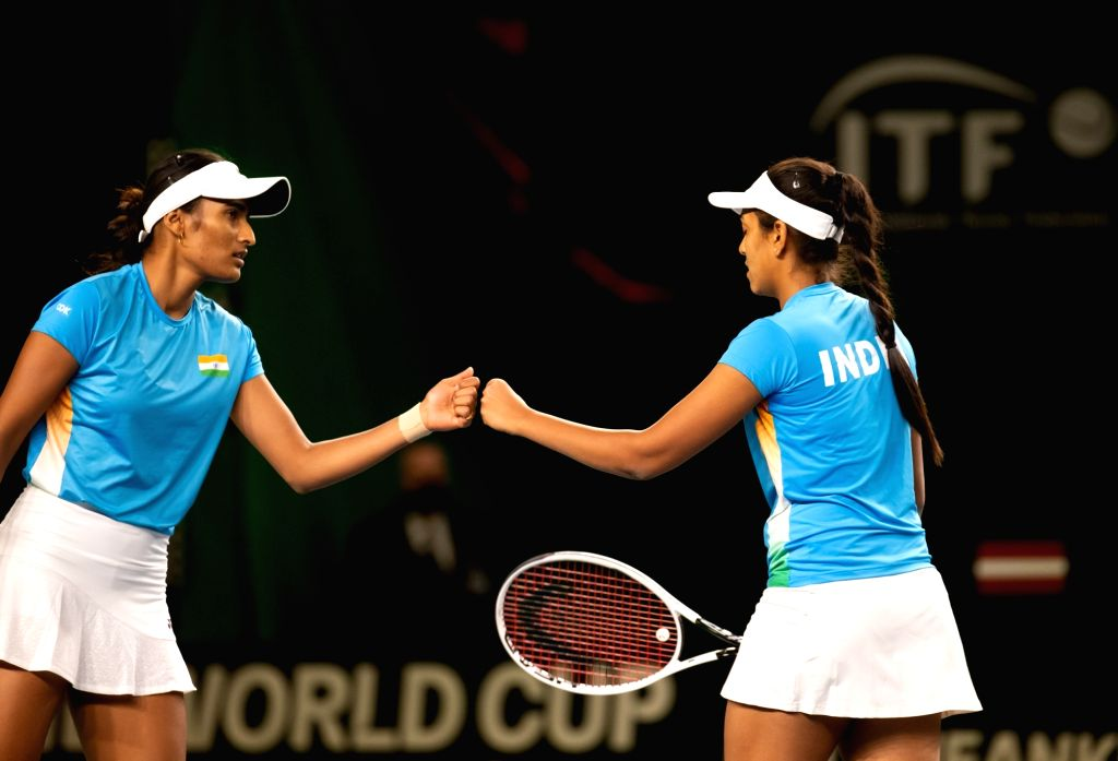 Rutuja-Zeel win doubles, India pull off consolation win against Latvia.