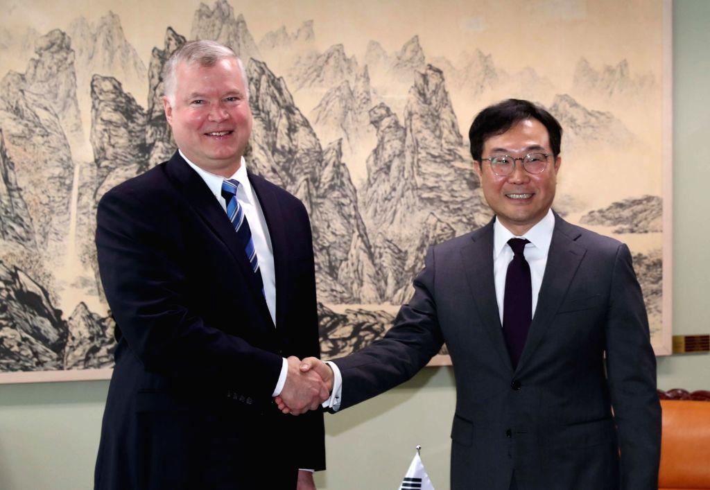 S.Korea, US nuclear envoys meet