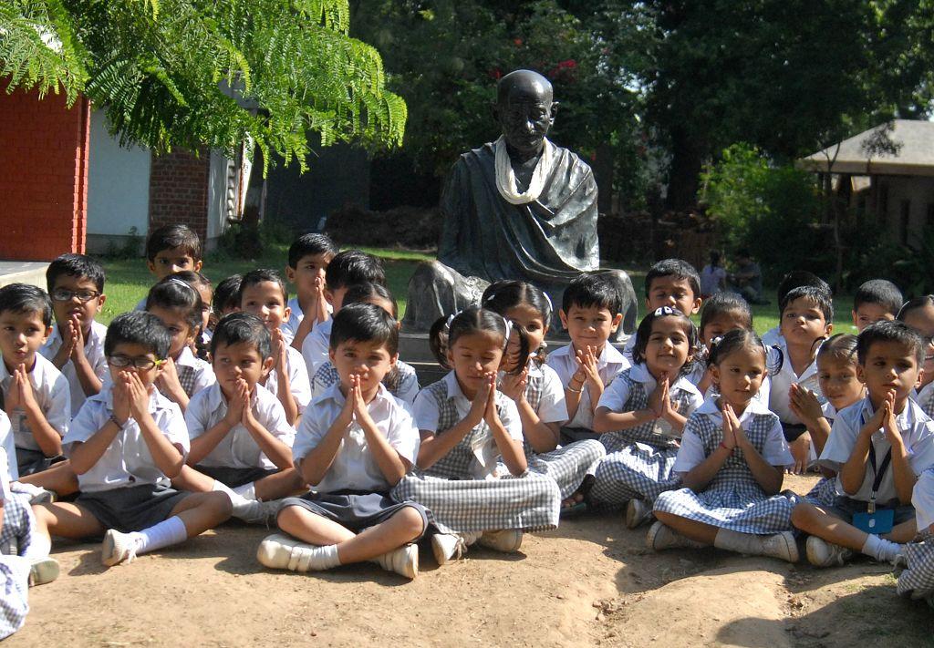 Sabarmati Ashram. (Photo: IANS)