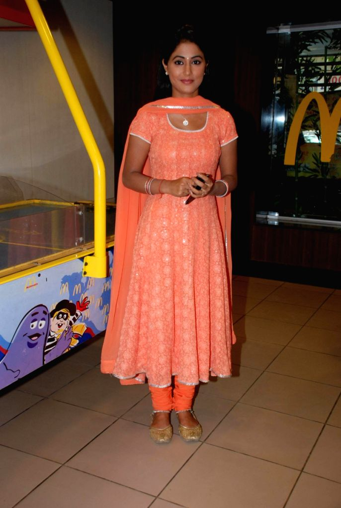 "Sabki Ladli Bebo"" photo shoot at MCdonalds."