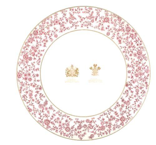 Sabyasachi for Thomas Goode & co Design 1 ( back) Bottom plate