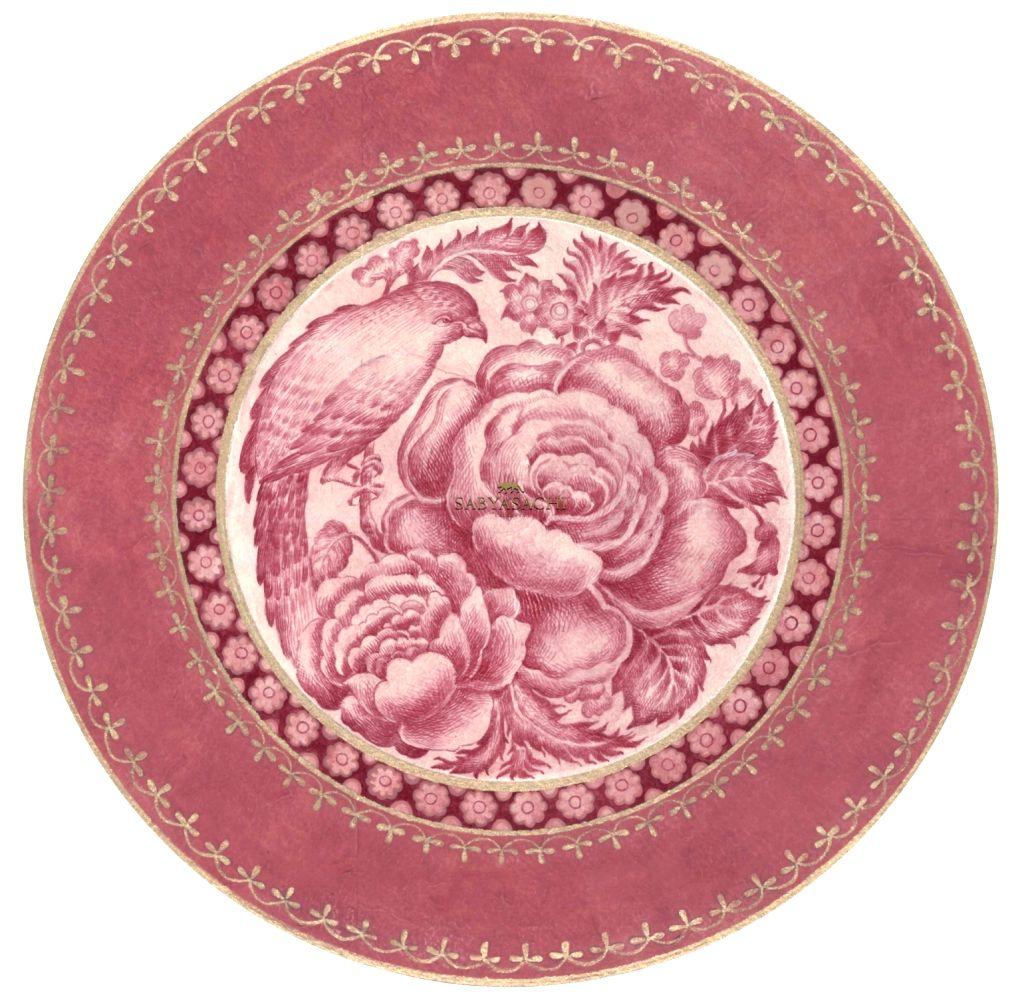 Sabyasachi for Thomas Goode & co Design 3 ( front) top plate