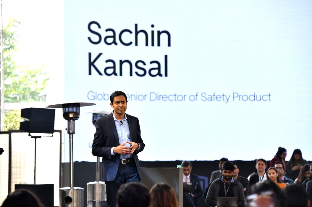 Sachin Kansal, Senior Director of Global Safety Products, Uber.