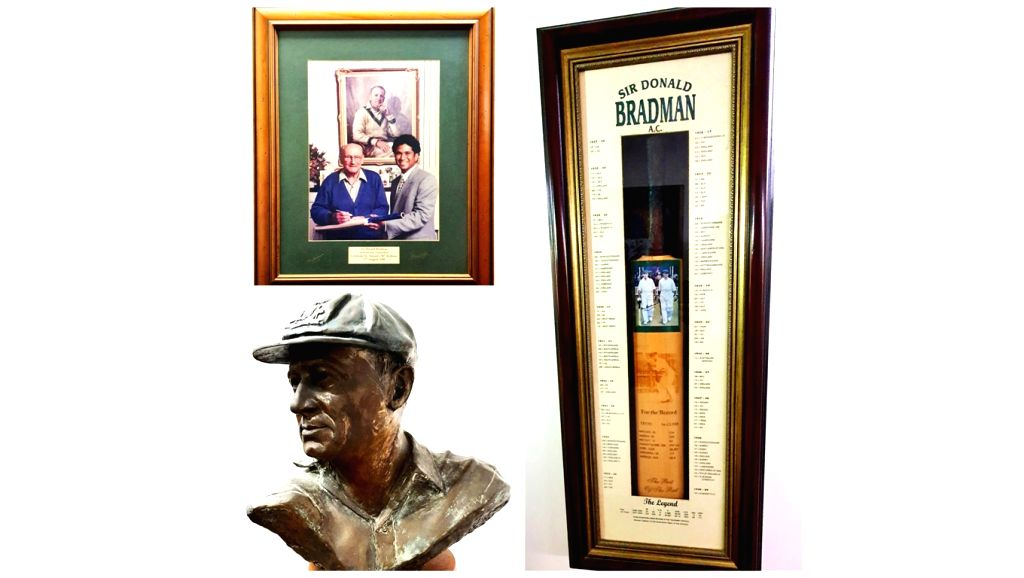 Sachin Tendulkar on Tuesday paid tribute to the legendary Sir Don Bradman on the occassion of the latter's 111th birth anniversary. Tendulkar had famously met Bradman alongwith Australian spin great ... - Sachin Tendulkar