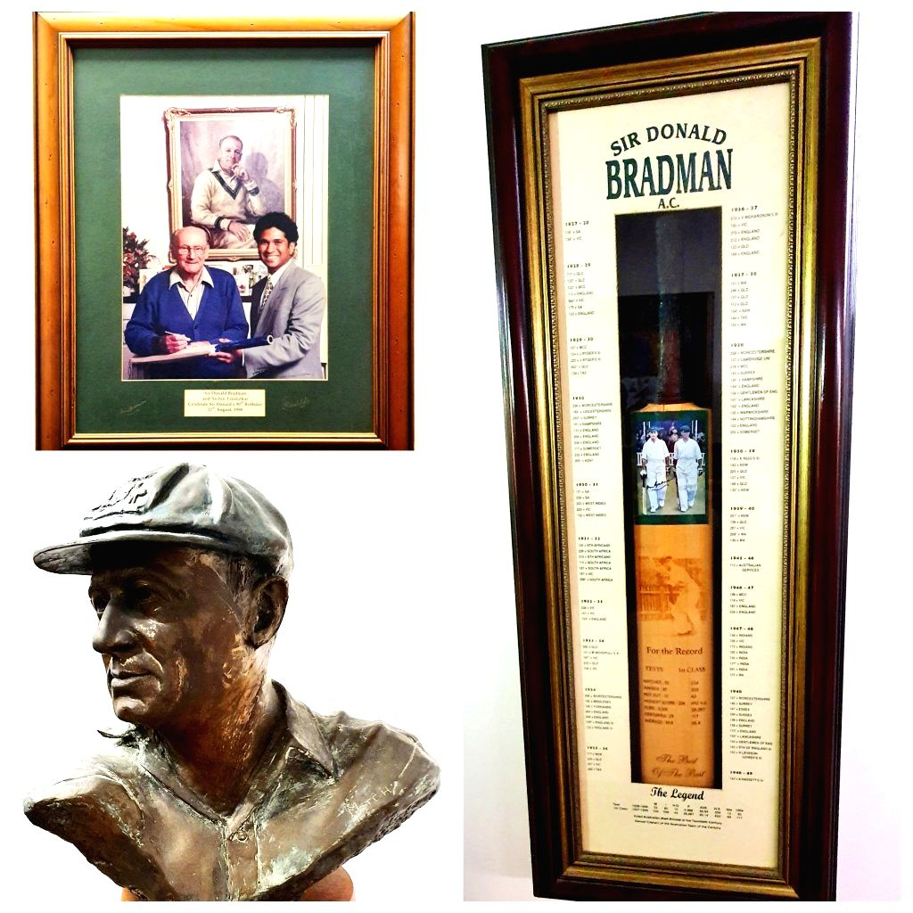 Sachin Tendulkar on Tuesday paid tribute to the legendary Sir Don Bradman on the occassion of the latter's 111th birth anniversary. Tendulkar had famously met Bradman alongwith Australian spin great Shane Warne during's India's tour of the country in - Sachin Tendulkar
