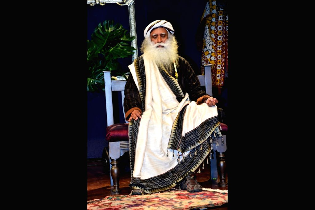 Sadhguru Jaggi Vasudev. (File Photo: IANS)