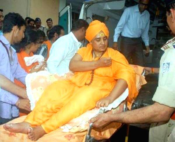 Sadhvi Pragya Singh Thakur.  (File Photo: IANS)