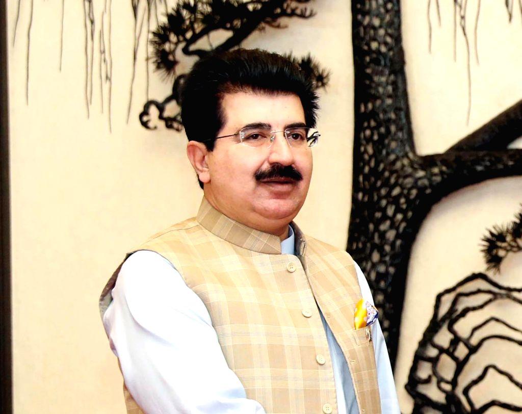 Sadiq Sanjrani. (File Photo: IANS)