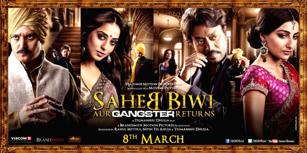 Saheb Biwi Aur Gangster First Look Poster in Mumbai.